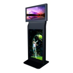 Bluelaser Dual screen stand alone digital signage