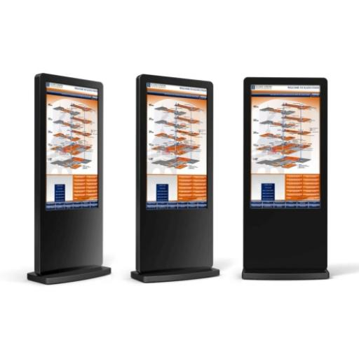 "Bluelaser touch screen multi touch screen signage 50"" 55"""