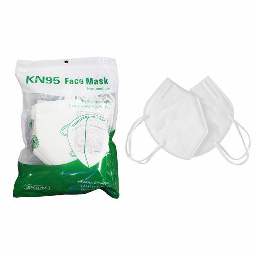 Disposable kn 95 face mask 3d kn95 respirator ffp2 dust mask 10 x masks